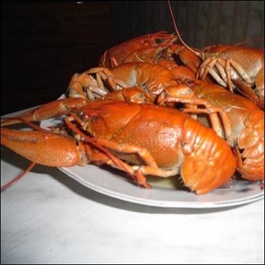 Рецепт Вареные раки сукропом