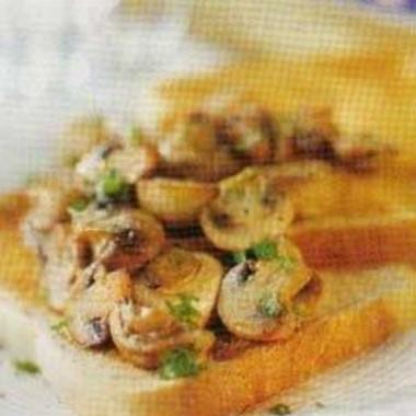 Рецепт Простой бутерброд сгрибами отДжейми Оливера