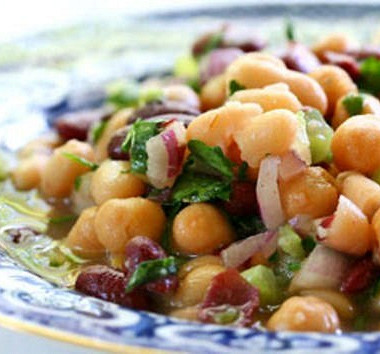 Рецепт Быстрый фасолевый салат