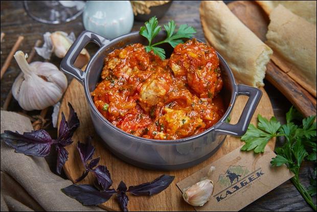 рецепт чахохбили из курицы с калорийностью