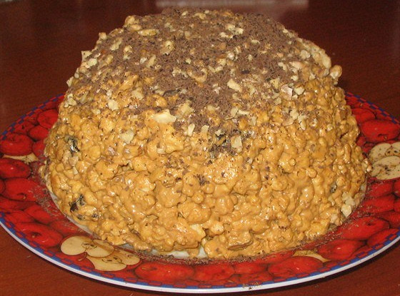 торт домашний муравейник рецепт с фото