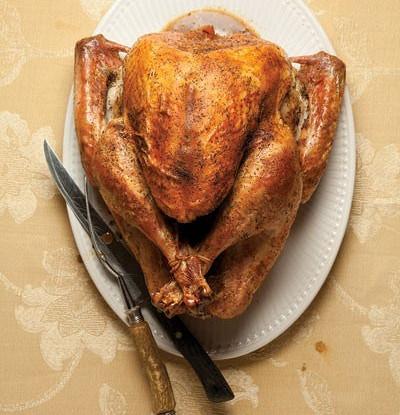 Фото к рецепту: Индейка ко дню благодарения