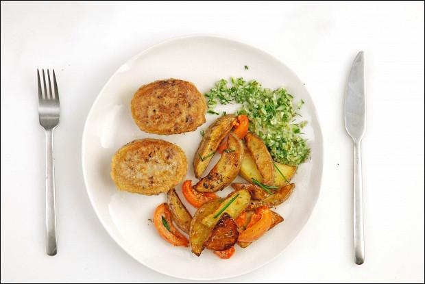 рецепт оливье из трех видов мяса