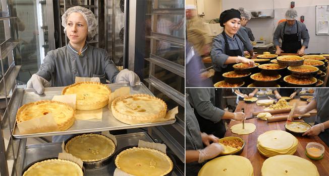 Как печет пироги «Любовь Пирогова»