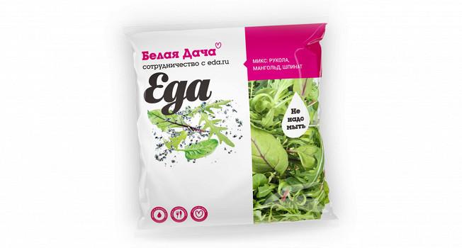 Новая салатная смесь «Еда»