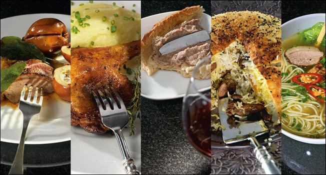 5 блюд из одной утки