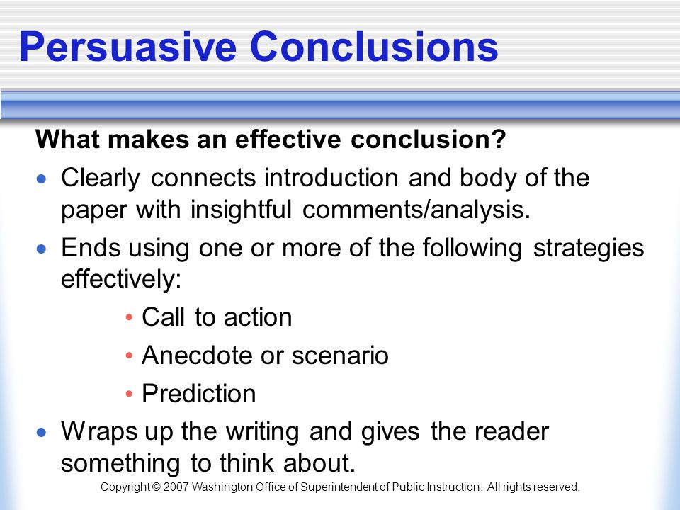 What Is the Call to Action in a Persuasive Essay