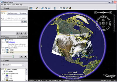 Download The Latest Version Of Google Earth Free In English On CCM - Google world map satellite free