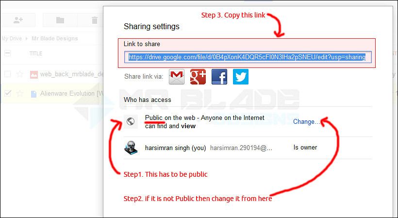 How to Create Direct Download Links for Files on Google Drive