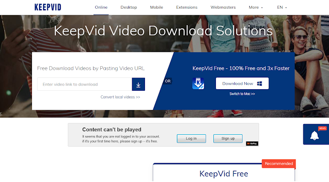 How to download youtube video WITHOUT url