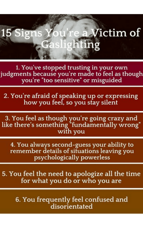 Warning signs that a person may be a victim of dating abuse