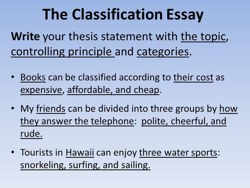 Classification Essay Friends - cmf-netde