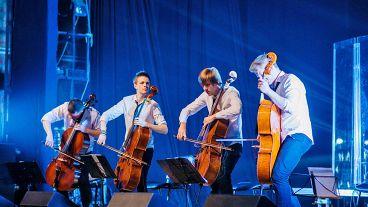 «Рок-хиты на виолончелях»: RockCellos