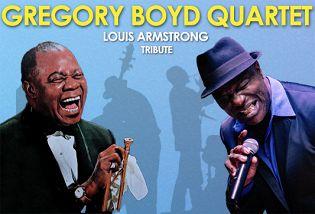 «Хиты Луи Армстронга»: Gregory Boyd Quartet