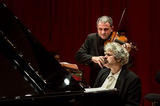 Михаил Лидский (фортепиано), Доменико Нордио (скрипка, Италия)