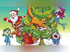 Новогодняя сказка Кота Баюна